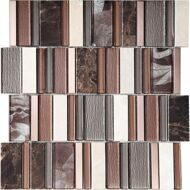 Мозаика Inter Matex Stripes Cinnamon 30x30