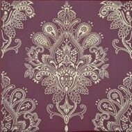 Декор Paisley Burdeos Rojo Decor 20 x 20