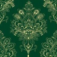 Декор Paisley Verde Botella Decor 20х20
