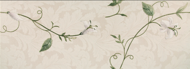 Декор Stella Decore Flowers White 25.3x70.6
