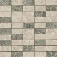 Мозаика Atlantic Tiles Mos. Atelier Oxford Brick (3x6 см) 31,5x31,5